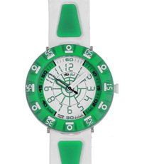 FCS029 Shaped White & Green 34mm