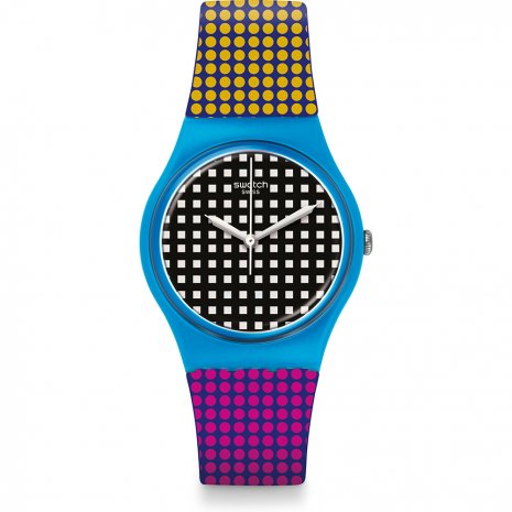 Swatch Behind the wall horloge