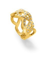 JRJ018-8 Melted Beauty Gold Ring