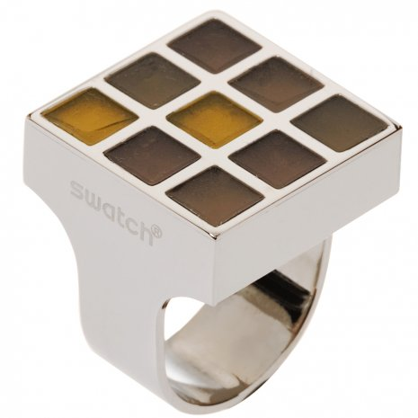 Swatch Bijoux Prismatic Champagne Ring Ring