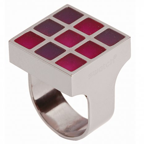 Swatch Bijoux Prismatic Red Ring Ring
