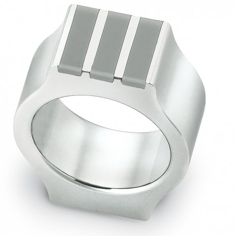 Swatch Bijoux Shake Up Grey Ring Ring