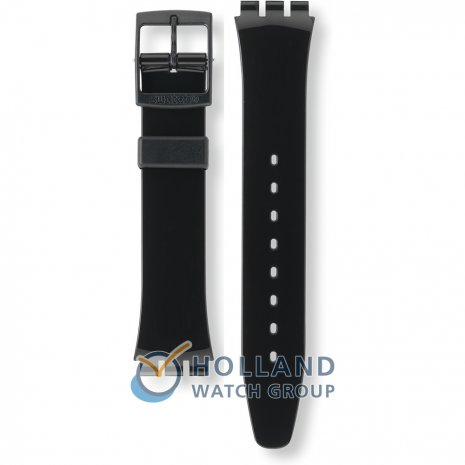 Swatch GB247 Black Suit Horlogeband