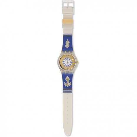 Swatch Blue Anchorage horloge