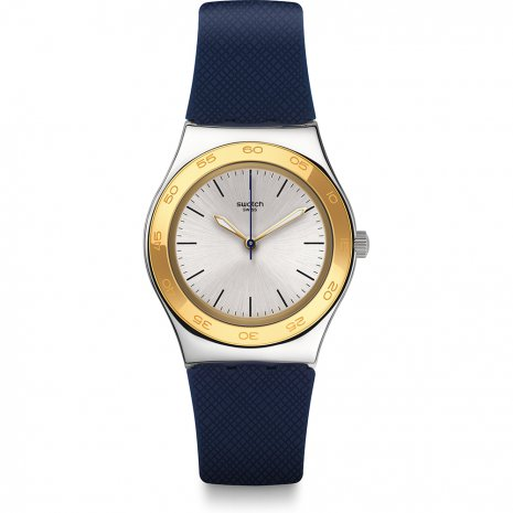 Swatch Blue Push horloge