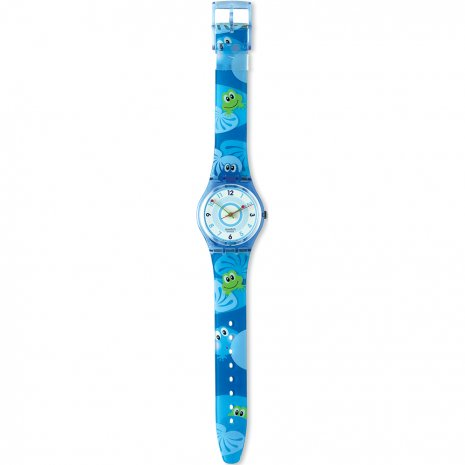 Swatch Froggy Weather horloge