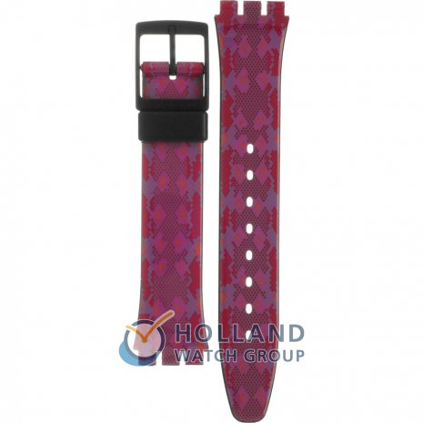 Swatch GB255 Snaky Pink Horlogeband