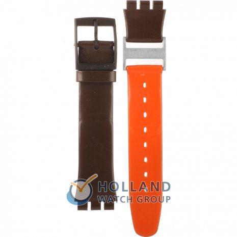 Swatch GC103 Additional Orange Horlogeband