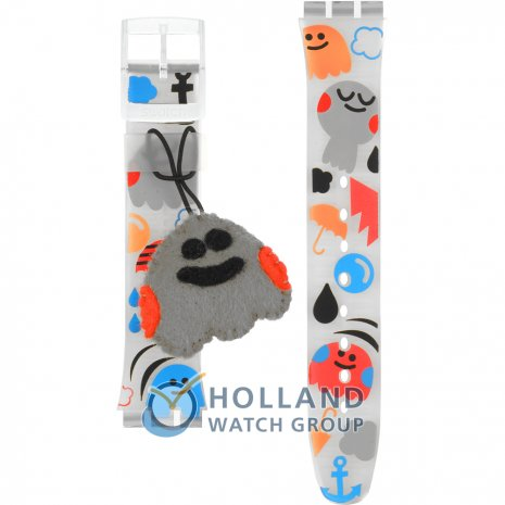 Swatch GE207 Fluffy Cocoon Horlogeband