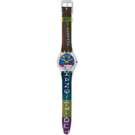 Swatch Go Big horloge