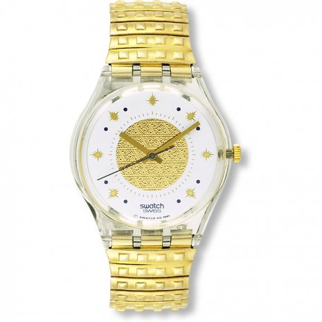 Swatch Golden Waltz horloge