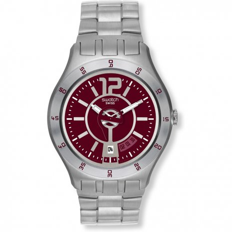Swatch In A Burgundy Mode horloge