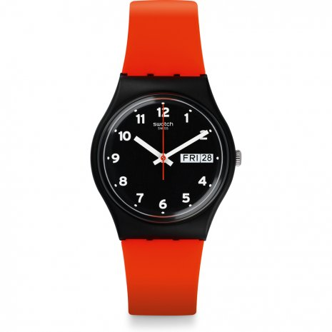 Swatch Red Grin horloge