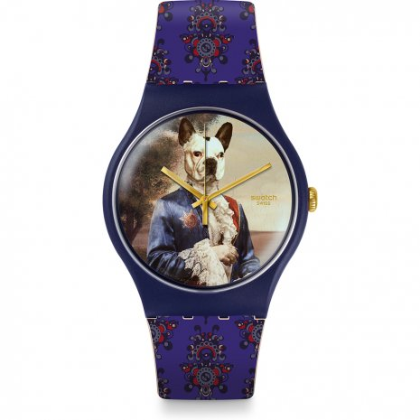 Swatch Sir Dog horloge