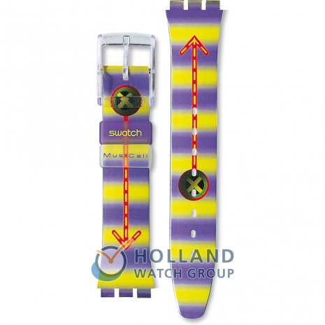 Swatch SLV100 Wired Horlogeband