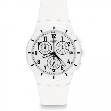 Swatch Twice Again White horloge